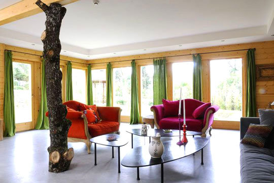 Tronc nitruant kiss kiss d co for Tronc arbre decoration interieur